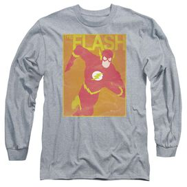 Jla Simple Flash Poster Long Sleeve Adult Athletic T-Shirt