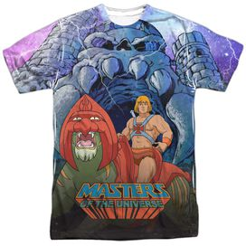 Masters Of The Universe Protecting Grayskull Short Sleeve Adult Poly Crew T-Shirt