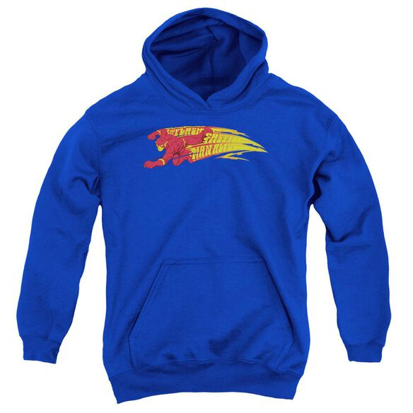 Dc Flash Fastest Man Alive Youth Pull Over Hoodie