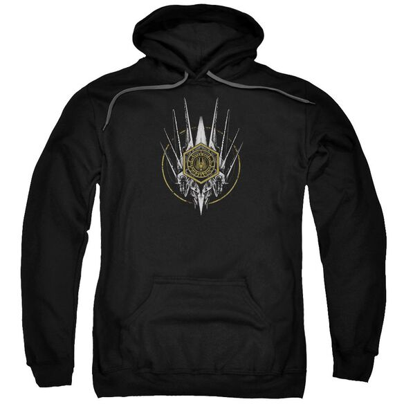 Bsg Crest Of Ships Adult Pull Over Hoodie Black