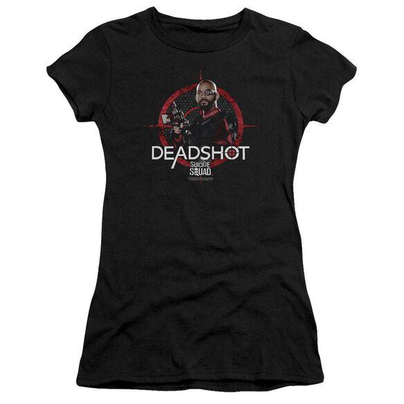 Suicide Squad Deadshot Target Premium Bella Junior Sheer Jersey