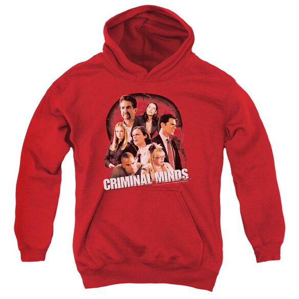 Criminal Minds Brain Trust Youth Pull Over Hoodie