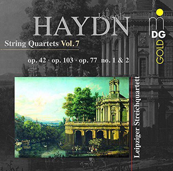 Haydn/ Leipzig String Quartet - String Quartets 7 Quartet Op