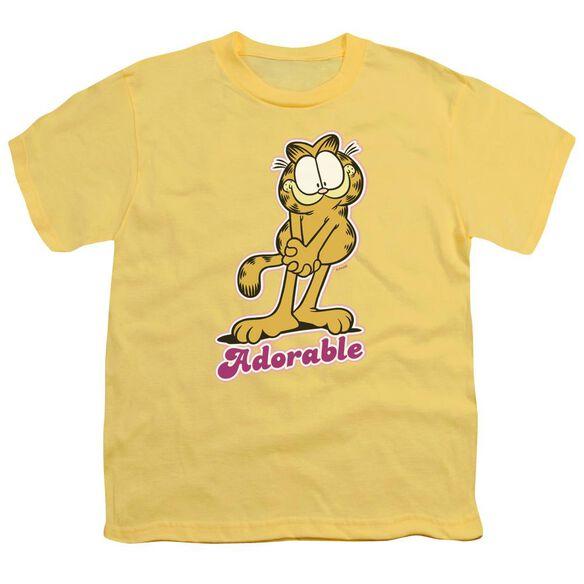 Garfield Adorable Short Sleeve Youth T-Shirt
