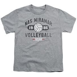 Top Gun Nas Miramar Volleyball Short Sleeve Youth Athletic T-Shirt