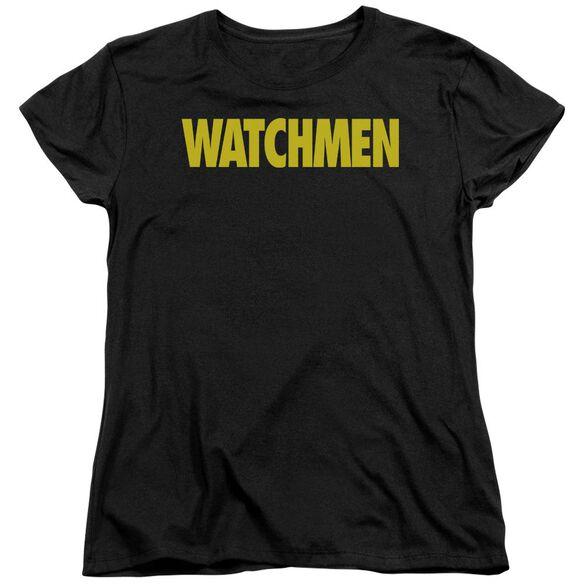 Watchmen Logo Short Sleeve Womens Tee T-Shirt