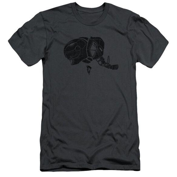 Power Rangers Black Short Sleeve Adult T-Shirt