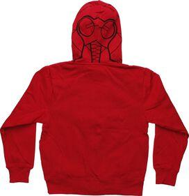 Iron Man Printed Hood Costume Juvenile Hoodie