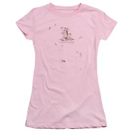 Garden I Dig Being Dirty Short Sleeve Junior Sheer T-Shirt