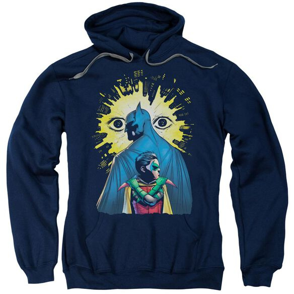 Batman Watchers Adult Pull Over Hoodie