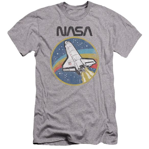 Nasa Shuttle Hbo Short Sleeve Adult Athletic T-Shirt