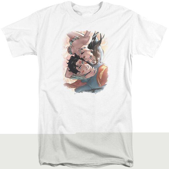 Jla Love Birds Short Sleeve Adult Tall T-Shirt