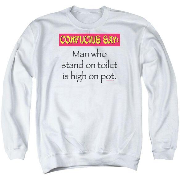 Confucius Adult Crewneck Sweatshirt