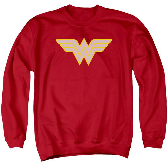 Dc Ww Logo Adult Crewneck Sweatshirt