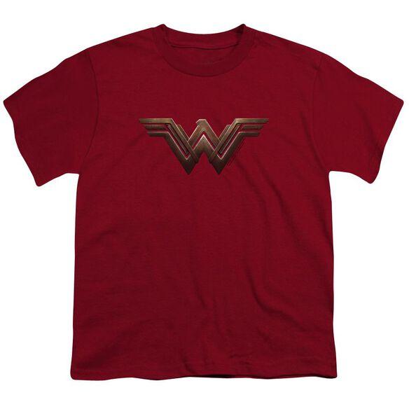 Wonder Woman Movie Wonder Woman Logo Short Sleeve Youth T-Shirt