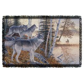 Wild Wings Silent Travelers 2 Woven Throw