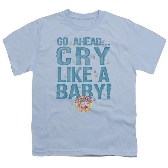 Dubble Bubble Cry Like A Baby Short Sleeve Youth Light T-Shirt