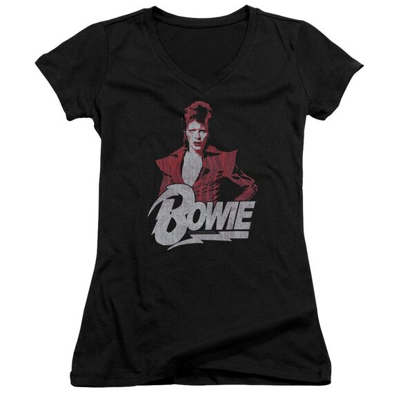 David Bowie Diamond David Junior V Neck T-Shirt