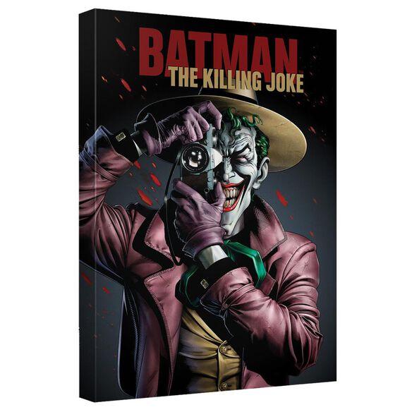 Batman The Killing Joke Canvas Wall Art With Back Board