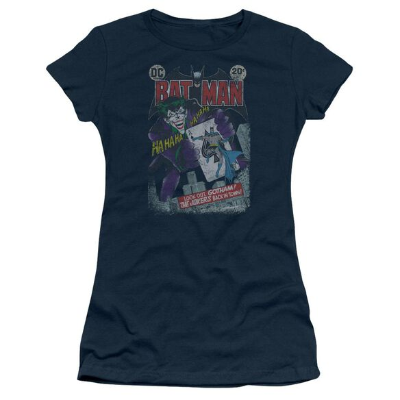 Batman #251 Distressed Short Sleeve Junior Sheer T-Shirt