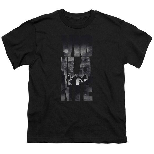Batman V Superman Rainy Viglante Short Sleeve Youth T-Shirt