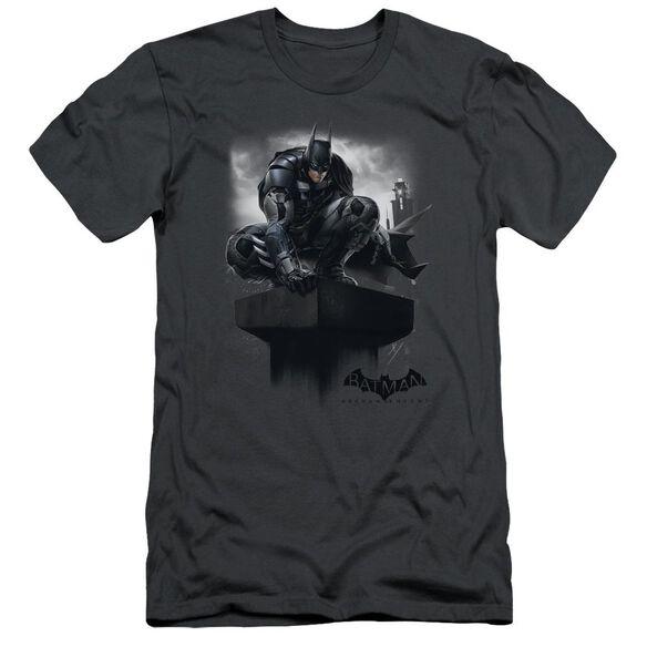 Batman Arkham Knight Perched Short Sleeve Adult T-Shirt