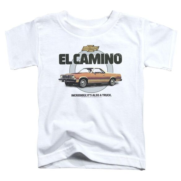 Chevrolet Also A Truck Short Sleeve Toddler Tee White T-Shirt