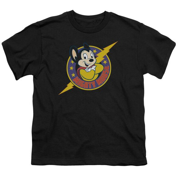 Mighty Mouse Mighty Hero Short Sleeve Youth T-Shirt