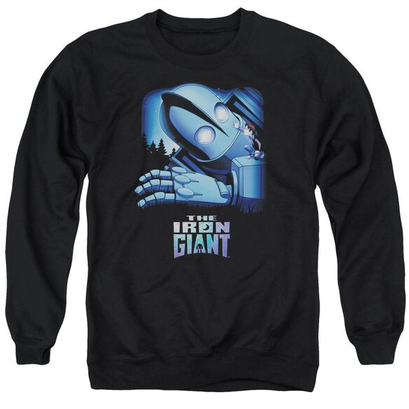 Iron Giant Giant And Hogarth Adult Crewneck Sweatshirt