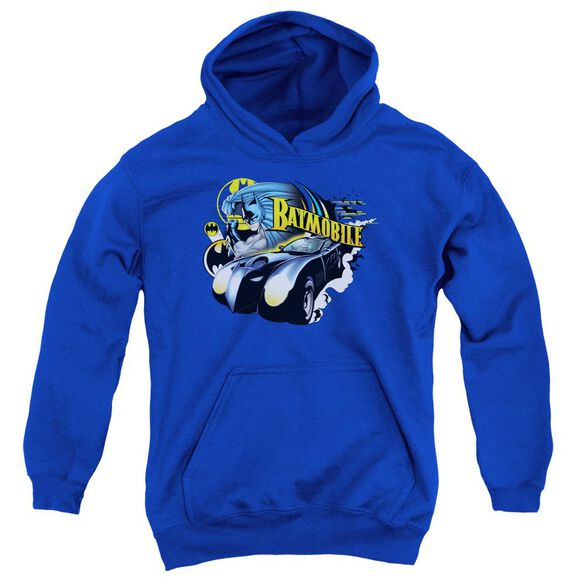 Batman Batmobile Youth Pull Over Hoodie