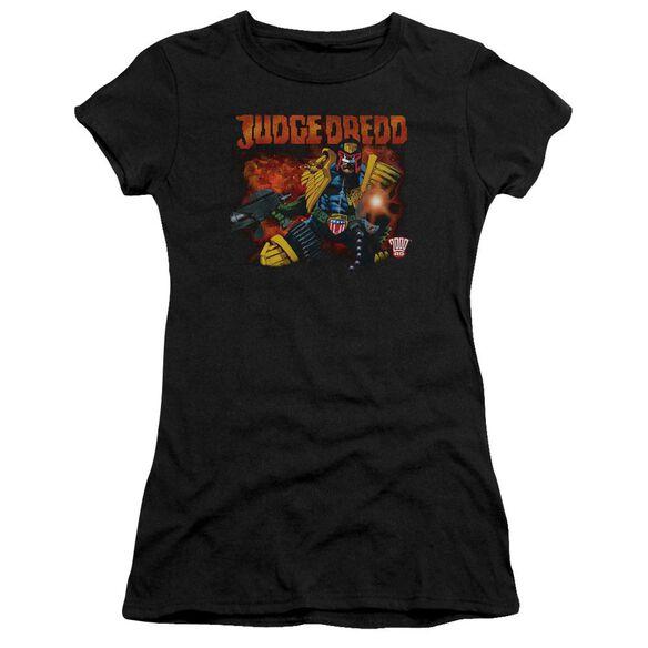 Judge Dredd Through Fire Premium Bella Junior Sheer Jersey
