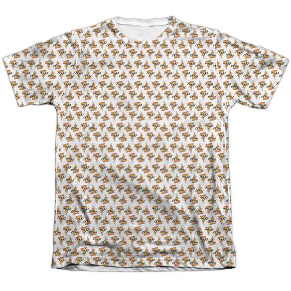 UNCLE GRANDPA PIZZAS-ADULT POLY/COTTON T-Shirt