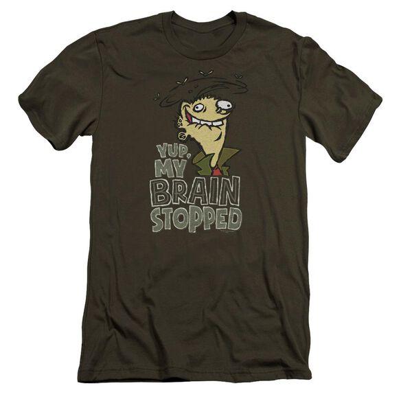 Ed Edd N Eddy Brain Dead Ed Premuim Canvas Adult Slim Fit Military