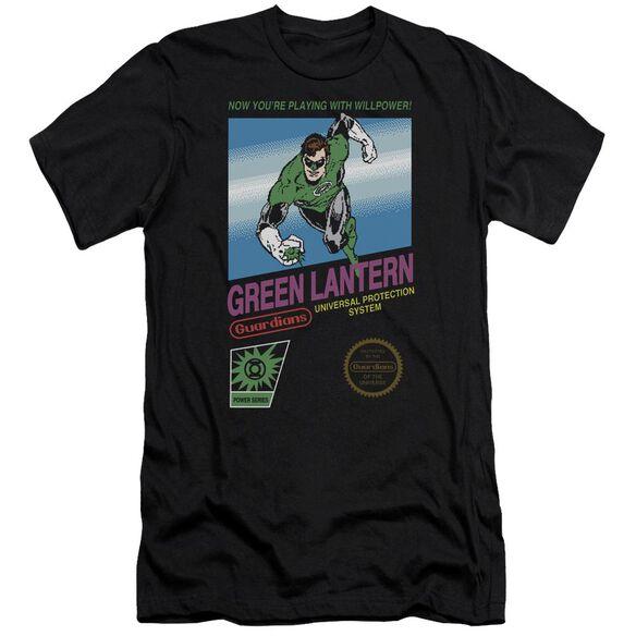 Green Lantern Box Art Premuim Canvas Adult Slim Fit