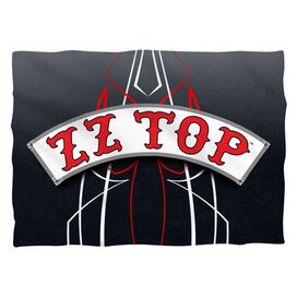Zz Top Decal Logo (Front Back Print) Pillow Case