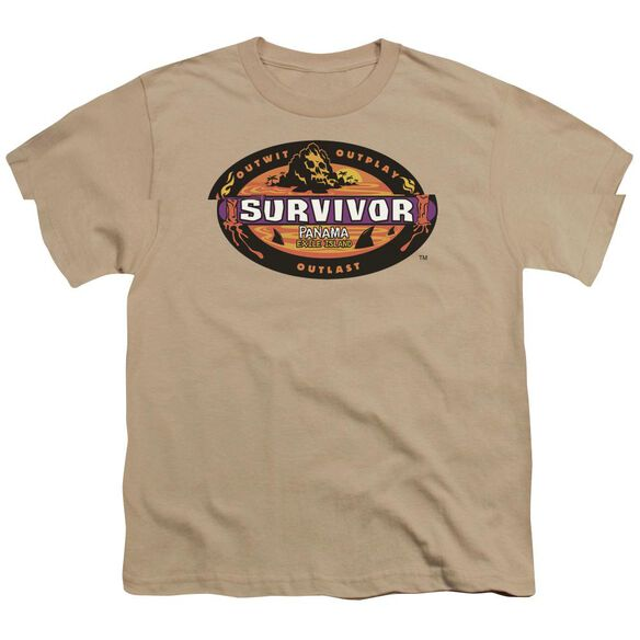 SURVIVOR PANAMA - S/S YOUTH 18/1 - SAND T-Shirt