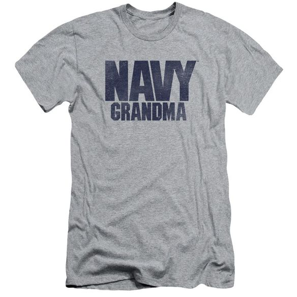 Navy Grandma Short Sleeve Adult Athletic T-Shirt
