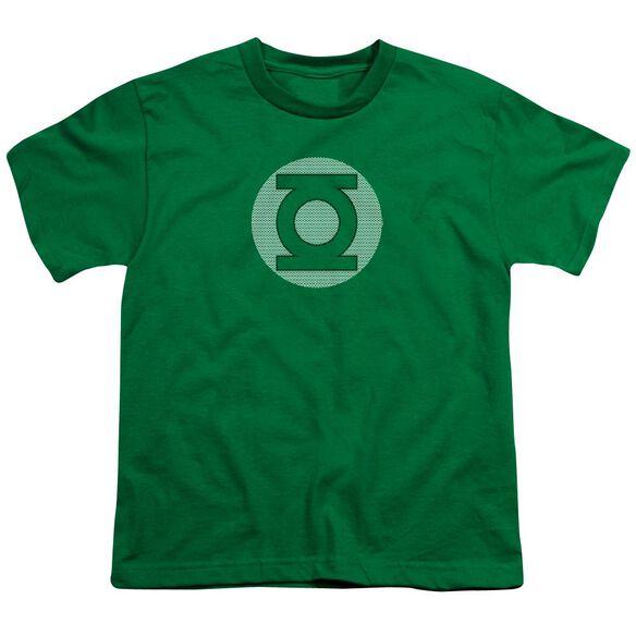 Dc Gl Little Logos Short Sleeve Youth Kelly T-Shirt