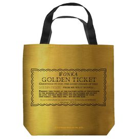 Willy Wonka And The Chocolate Factory I Got A Golden Ticket Tote
