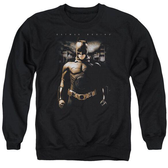 Batman Begins Gotham Bats Adult Crewneck Sweatshirt