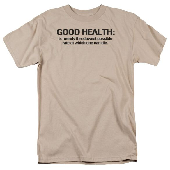 Good Health Short Sleeve Adult Sand T-Shirt