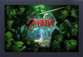 Legend of Zelda Forest 11x17 Wall Art