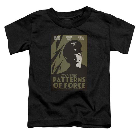 Star Trek Tos Episode 50 Short Sleeve Toddler Tee Black Lg T-Shirt