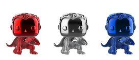 Funko Pop! DC Comics: Superman 3 pack Chrome NYCC 2018