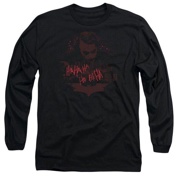 Dark Knight People Will Die Long Sleeve Adult T-Shirt