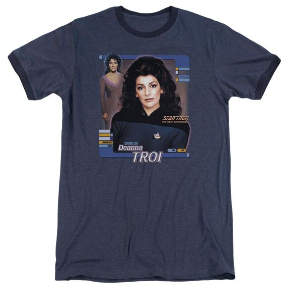Star Trek Deanna Troi Adult Heather Ringer Navy