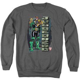 Judge Dredd Blam Adult Crewneck Sweatshirt