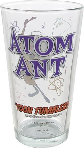 Atom Ant Pint Glass