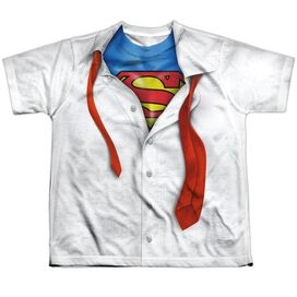 Superman Im Superman Short Sleeve Youth Poly Crew T-Shirt