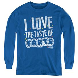 FARTS CANDY TASTY FARTS-YOUTH LONG SLEEVE